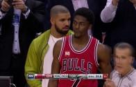 Drake helps to force 5 second inbound violation for Raptors