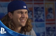 Jacob DeGrom pitches as himself in MLB The Show 2016
