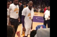 """Kobe Bryant says """"let's beat the shit out of them"""" during Warriors game"""