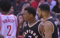 Kyle Lowry ejected by Patrick Beverley complaining?