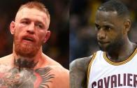 LeBron James words of encouragement for Conor McGregor
