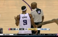 Rajon Rondo gets two delay of game technical fouls