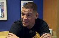 Nate Diaz jokingly thought the UFC wouldn't pay him for beating Conor McGregor