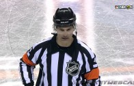 NHL referee with the most dramatic call ever