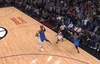 Russell Westbrook with an atrocious shot selection to end game