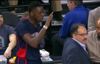 Stan Van Gundy leaves Reggie Jackson hanging