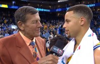 Stephen Curry calls Craig Sager an inspiration to the Warriors