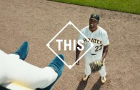 Andrew McCutchen can catch anything (MLB Commercial)