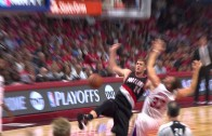 Blake Griffin blows through Damian Lillard & posterizes Mason Plumlee