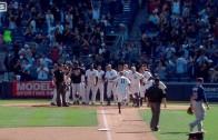 Brett Gardner hits walk off home run for the Yankees