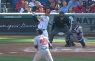 Bryce Harper belts home run number 100 with '100' emoji bat