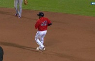 David Ortiz actually stole a base on the Toronto Blue Jays