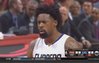 DeAndre Jordan completely airballs a free throw