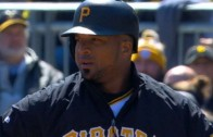 Francisco Liriano helps his own cause with an RBI single