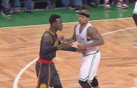 Isaiah Thomas & Dennis Schroder get double techs after two altercations