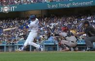 Joc Pederson belts a two run shot leading to a Dodgers win