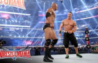 John Cena joins forces with The Rock at Wrestle Mania 32