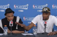 "Kevin Durant calls Mark Cuban an ""idiot"" for his Russell Westbrook comments"
