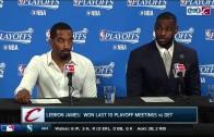 """LeBron James calls himself a """"tank"""" & not a designated sniper"""
