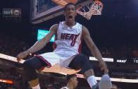 Miami Heat's Josh Richardson throws down a vicious slam