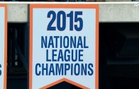 New York Mets raise NL pennant banner at Citi Field