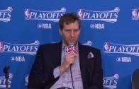 Rick Carlisle & Dirk Nowitzki speak on the Mavs blowout loss to OKC