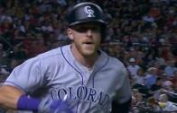 Rockies rookie Trevor Story hits 2 homers in MLB debut