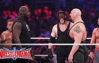 Shaquille O'Neal fights in Battle Royal at Wrestle Mania 32