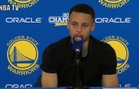 Steph Curry reflects on how far he's come after 73rd win