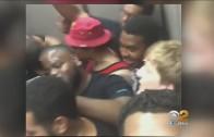 USC offensive lineman get trapped in elevator & make elevator rap song