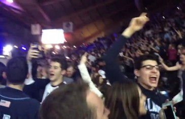 Villanova students erupt at watch party after buzzer beater
