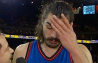 "Steven Adams calls Golden State Warriors ""quick little monkeys"""