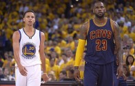 """Stephen Curry """"ignores"""" LeBron James's MVP comments"""
