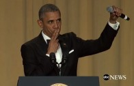 "President Obama goes Kobe Bryant ""Mamba Out"" during speech"