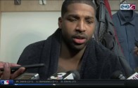 Cavs' Tristan Thompson was pissed off by Bismack Biyombo's performance