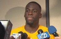 Draymond Green says his kick on Steven Adams was an accident
