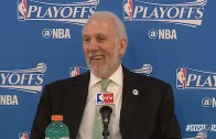 Gregg Popovich in classic form after Spurs lose series to Thunder