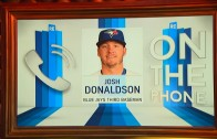 Josh Donaldson eloquently states his position on throwing at people