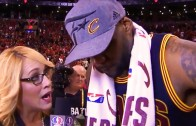 LeBron James gets emotional after 6th consecutive trip to NBA Finals
