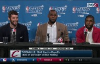 LeBron James says Cavs don't need passports because of Tristan Thompson