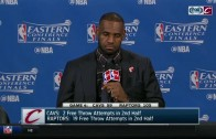 LeBron James says he doesn't pay attention to sports media