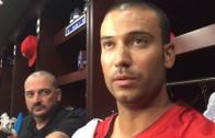 Matt Bush declines to say whether he hit Jose Bautista intentionally