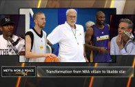 Metta World Peace discusses the Malice at the Palace with Colin Cowherd