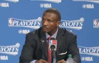 Raptors head coach Dwane Casey speaks on the Raptors being doubted