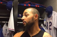 Rougned Odor says he was defending himself from a hard slide