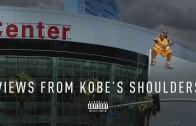 "Shaq walks off set over Kobe Bryant shoulder ""Views"" meme"
