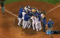 Trayce Thompson hammers a walk-off homer for the Dodgers