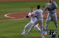 Manny Machado comes out swinging at Yordano Ventura