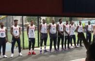2016 USA Basketball Team Surprises Kids at Camp