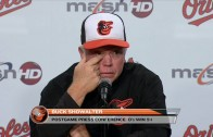 Buck Showalter backs Manny Machado in post game comments